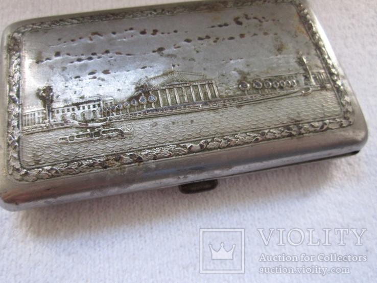 Портсигар миниатюрный 55*95мм, фото №3