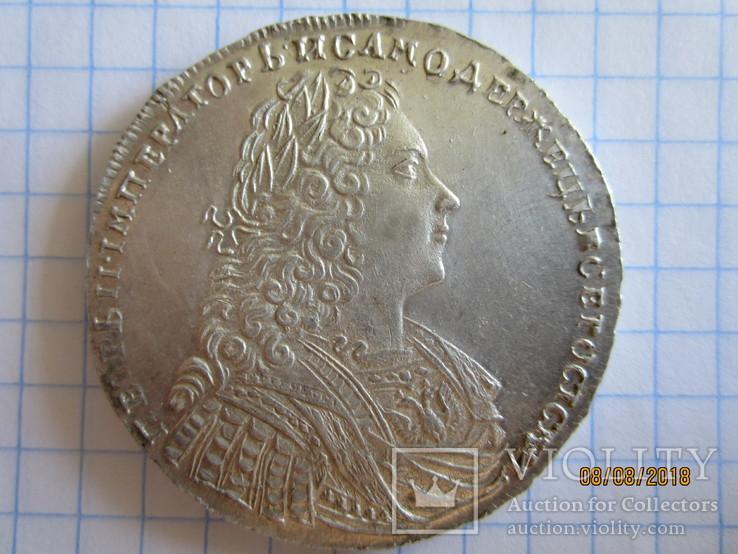 Рубль 1729 год