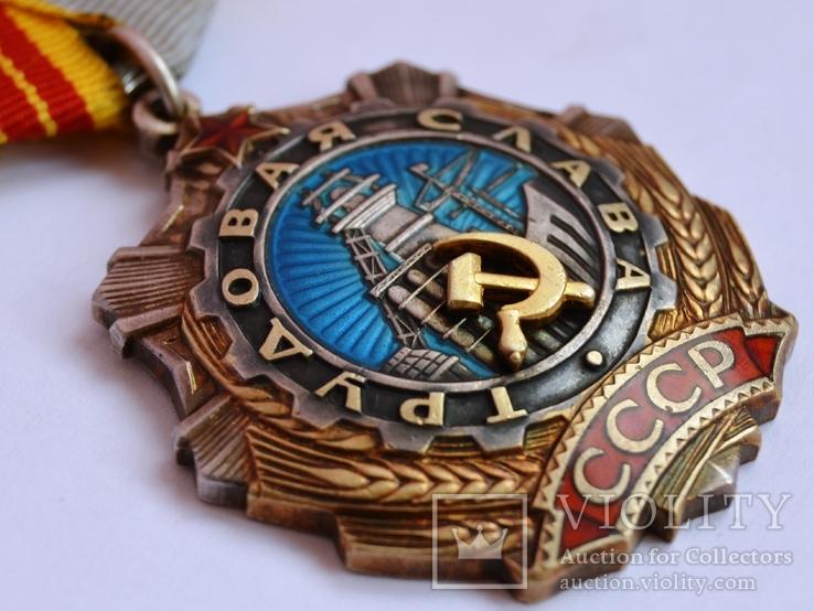 Орден Трудовой Славы 2 ст. № 39972