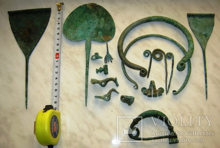 Комплекс Кобанской культуры (бронзовый век).