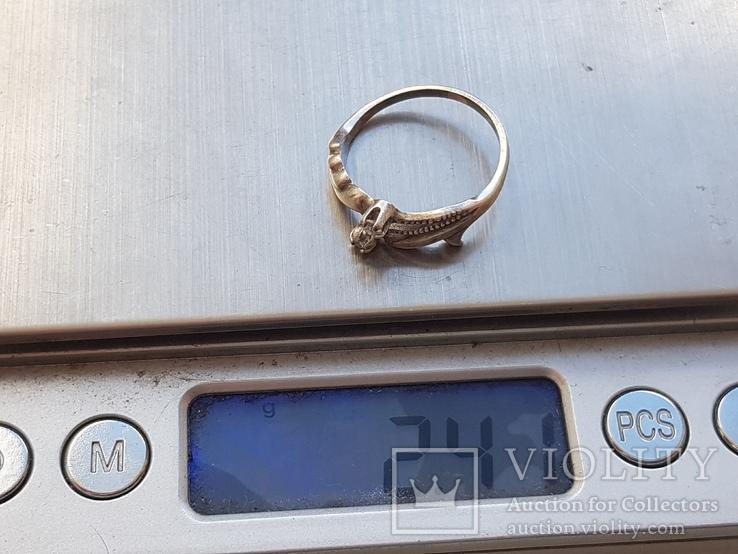 Колечко. Серебро 925 проба. Размер 18, фото №6