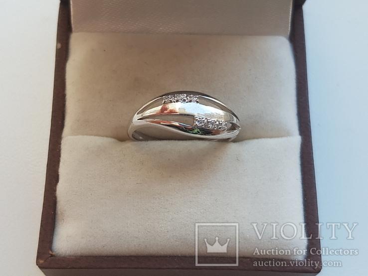 Колечко 925 серебро. Размер 16.5., фото №2