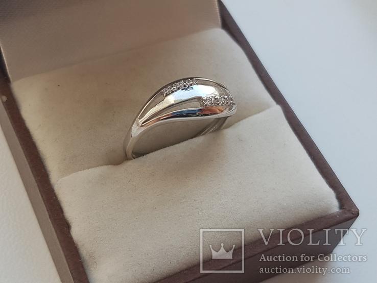 Колечко 925 серебро. Размер 16.5., фото №4