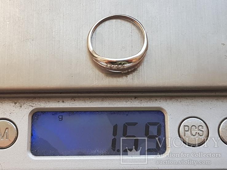 Колечко 925 серебро. Размер 16.5., фото №9