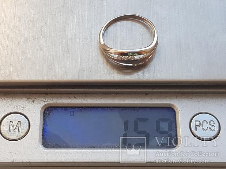 Колечко 925 серебро. Размер 16.5., фото №10