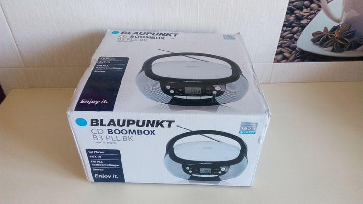 CD-магнітола Blaupunkt CD-Boombox B3 PLL BK