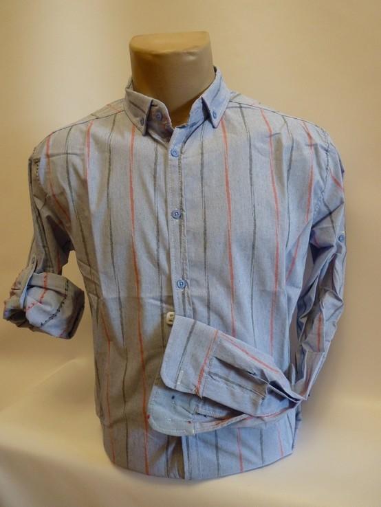 Рубашка новая Португалия 100% хлопок размер 44
