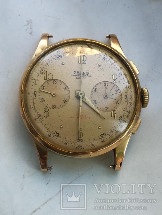 Часы хронограф 750 проба