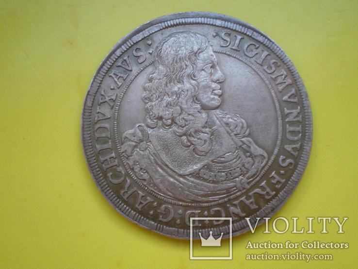 Талер 1665 г. Сигизмунд Франца