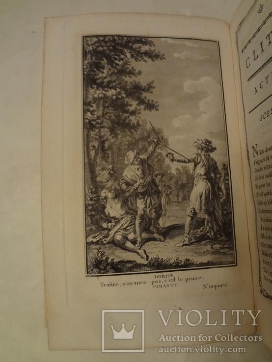 1776 Комедии с эффектными гравюрами и тройным золотым обрезом