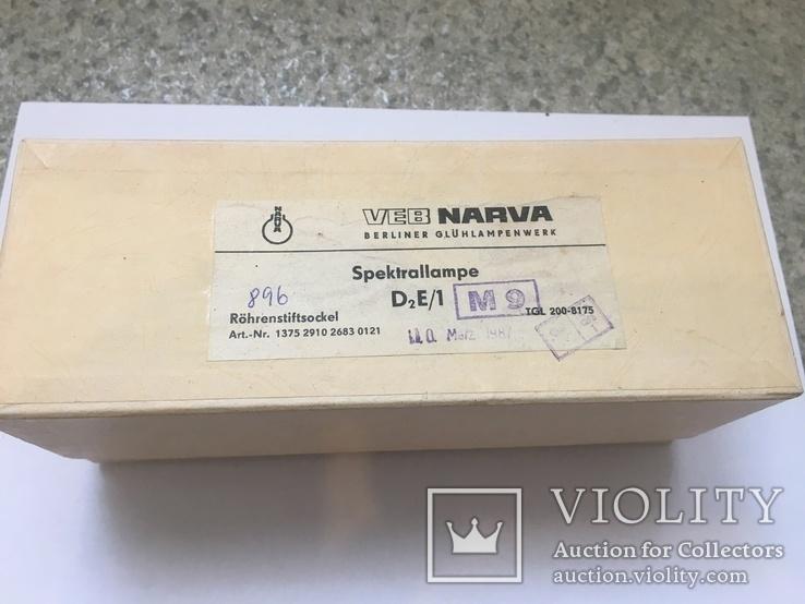Дейтериевая лампа NARVA для SPECORD, фото №4