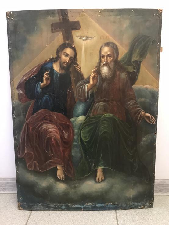 Новозаветная Троица. 68х50см.