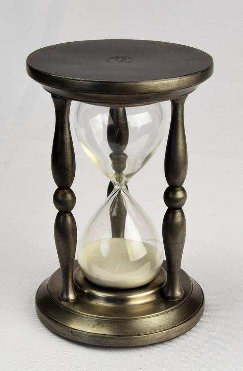 Часы большие песочные настольные Клеймо Европа