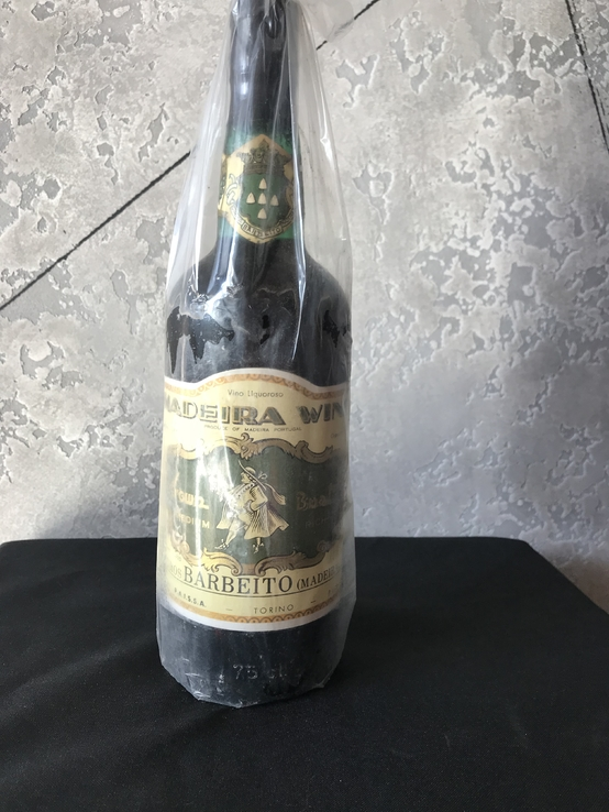Madeira Wine. Vinhos Barbeito 1980-x, 750ml 18vol.