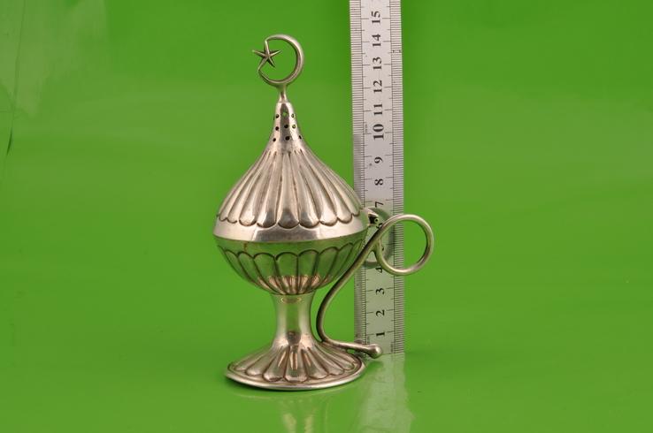 Ароматница. Серебро 900. Вес 177,3 грамма., фото №9