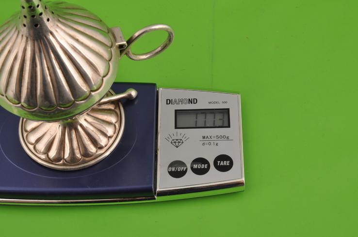 Ароматница. Серебро 900. Вес 177,3 грамма., фото №13