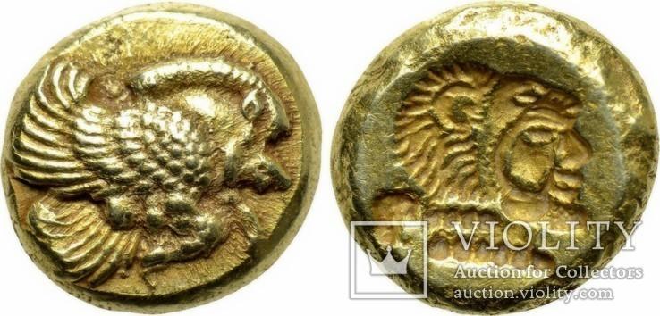 Гекта Lesbos Mytilene 521-478 гг до н.э. (65_8)