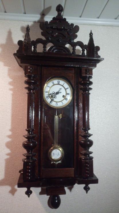 Старинные настенные  часы  Фридрих Мауте ( FMS)