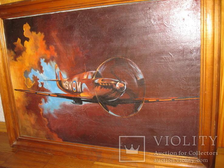Истребитель-самолёт  65*46, фото №2