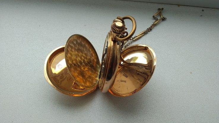 Часы карманные золотые Remontoir
