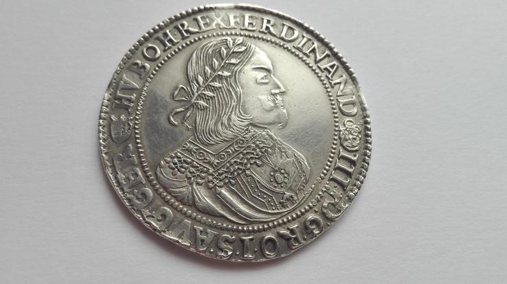 Талер 1659р.фердинанд3