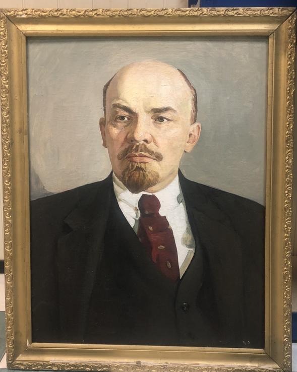 «Ленин» большая агитационная картина