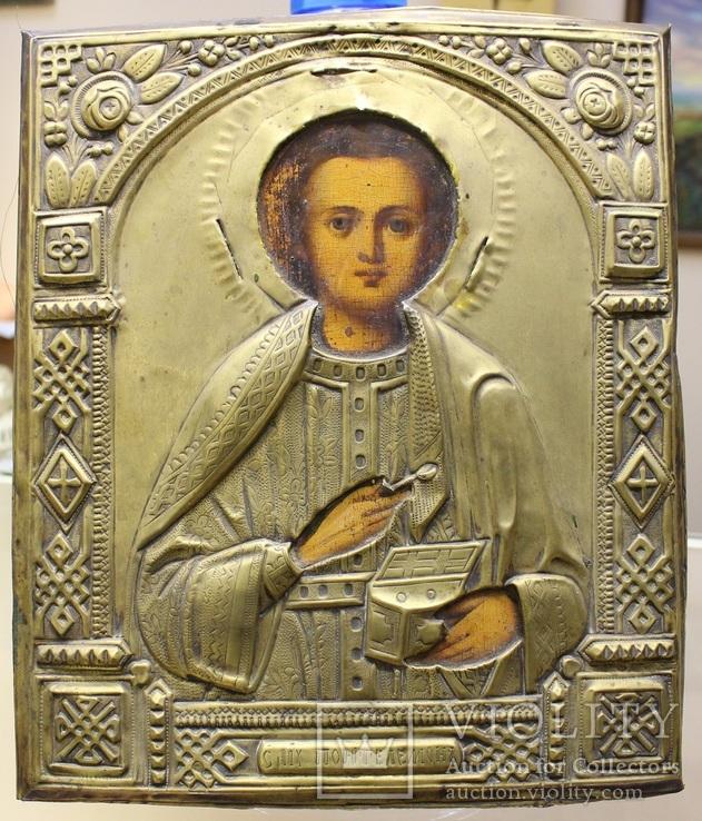 Икона Пантелеймон Целитель. Аналой