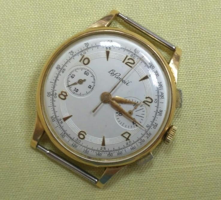 Золотой хронограф 750 пр.