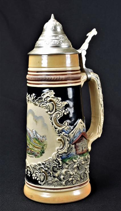 Кружка пивная 30 см . коллекционная D.B.G.M Pitztal Австрия