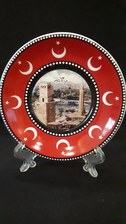 Сувенирная тарелка Турция. Анталия., фото №6