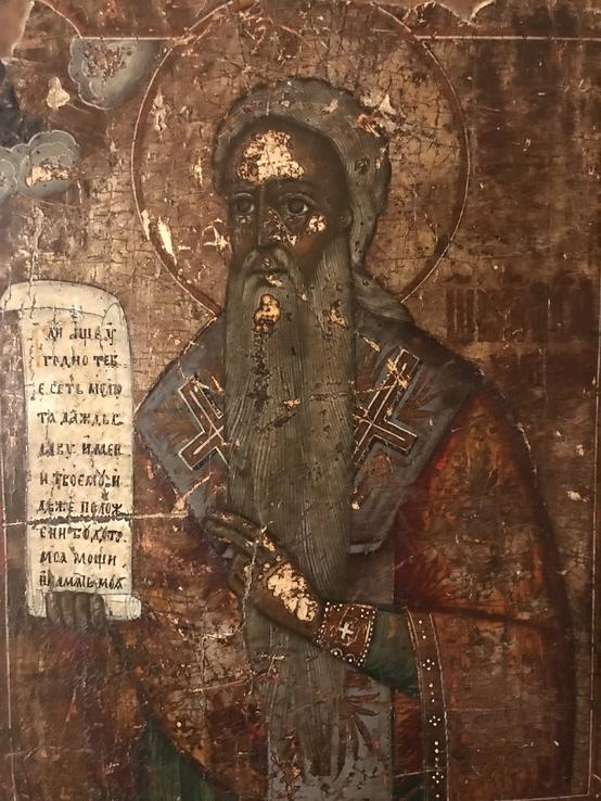 Икона Святой Харлампий конец 18 века
