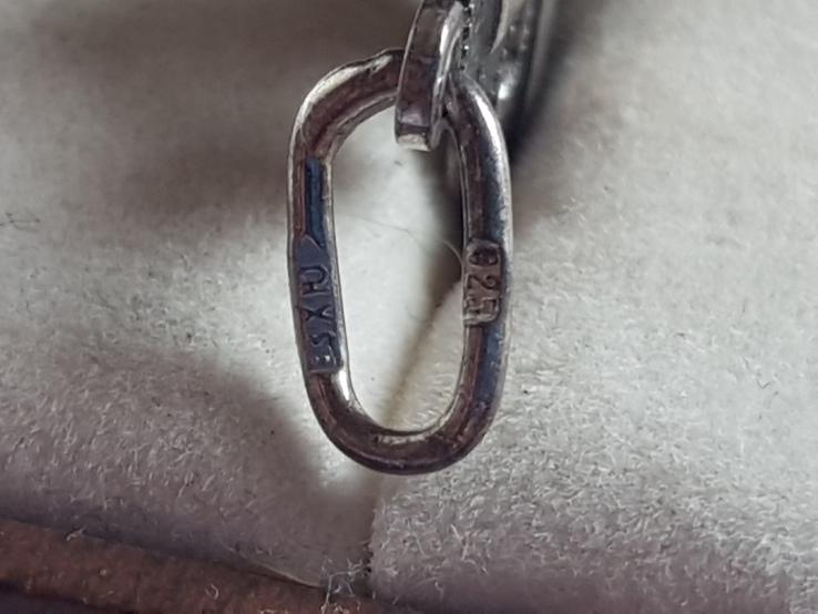 Крестик нательный серебро 925 проба. Вес 2.6, фото №5