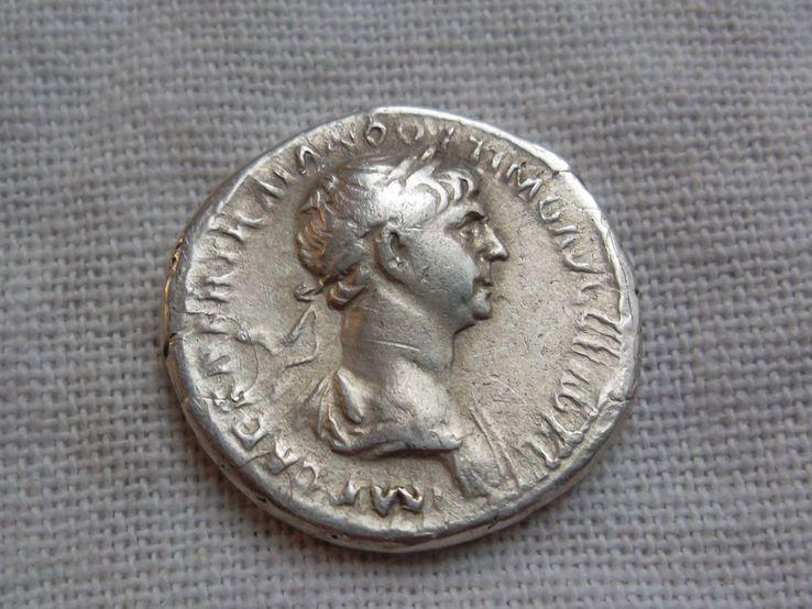 Денарий Траяна