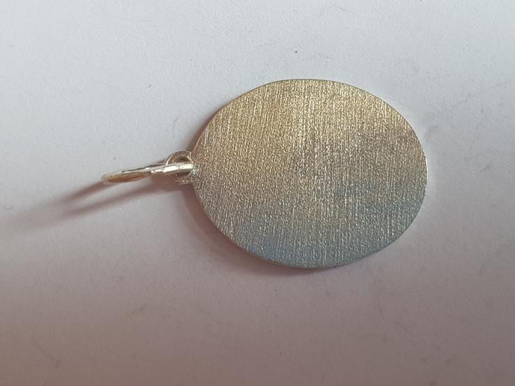 Ладонка нательная. Серебро 925 проба., фото №4