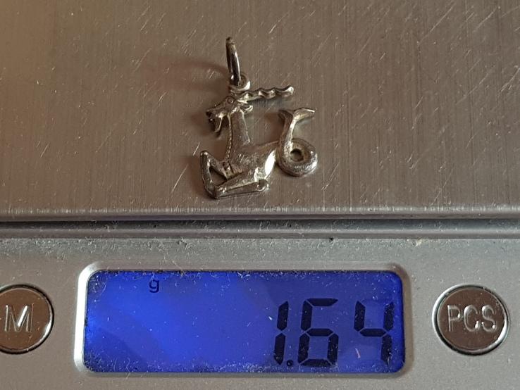 Кулон СССР. Серебро 925 проба., фото №7