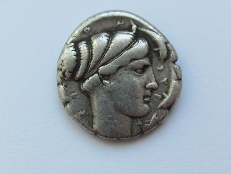 Тетрадрахма Сиракуз.