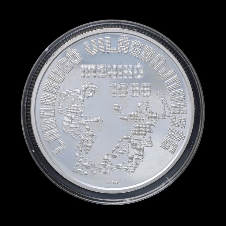 500 Форинтов 1986 Футбол, Венгрия