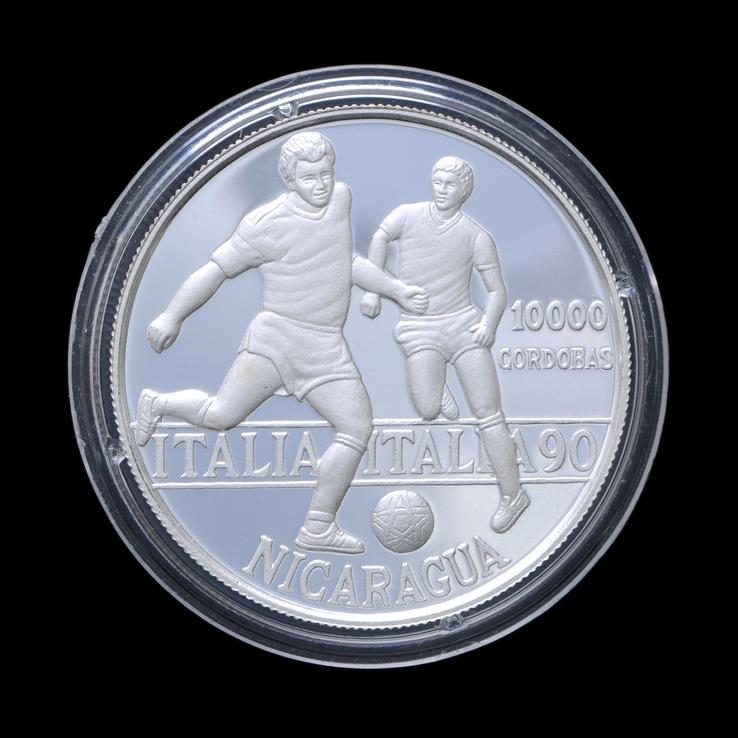 10000 Кордоба 1990 Футбол, Никарагуа