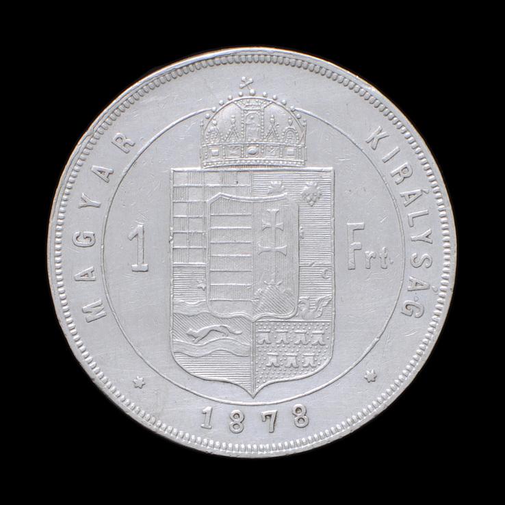 1 Форинт 1878 КВ, Австро-Венгрия