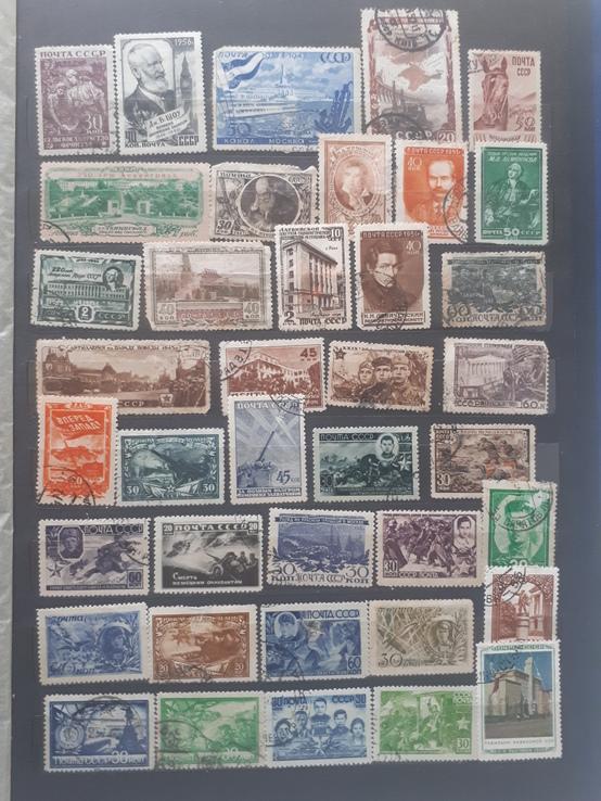 1937-1961гг. марки ссср 337шт.