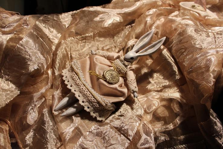 Adele. Коллекционная кукла-болтушка ручной работы королевских кровей.