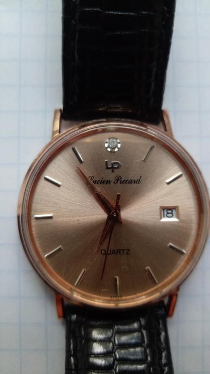 Швейцарской часы фирмы Lucien Piccard 14 kt не выкуп