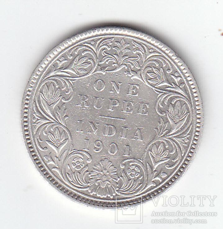 1 Рупия 1901 Виктория, Британская Индия