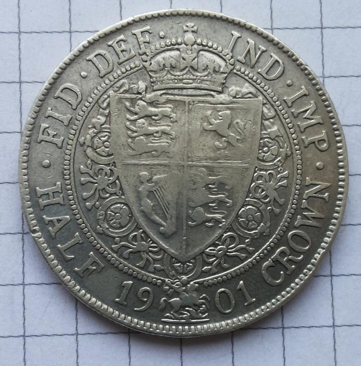 Пол кроны 1901