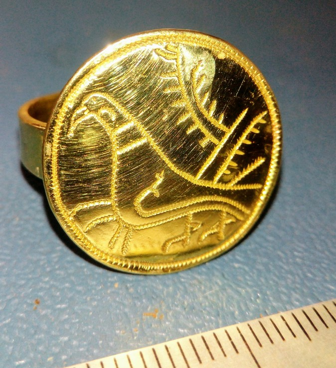 Реплика Перстень КР Галицко-Волынское княжество 14 век, фото №3