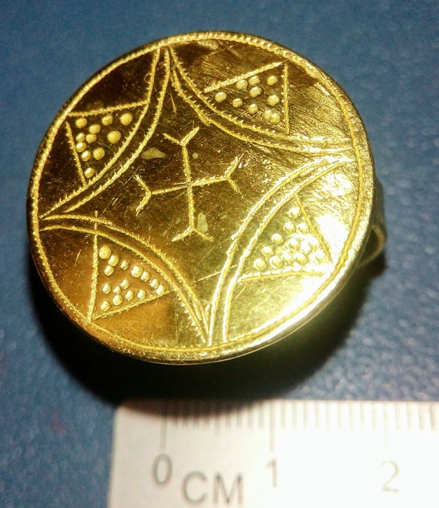 Реплика Перстень КР Галицко-Волынское княжество 14 век, фото №5
