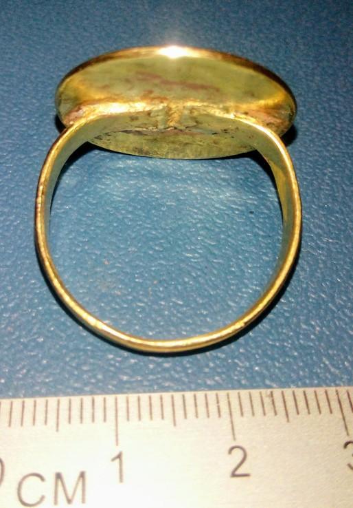 Реплика Перстень КР Галицко-Волынское княжество 14 век, фото №6