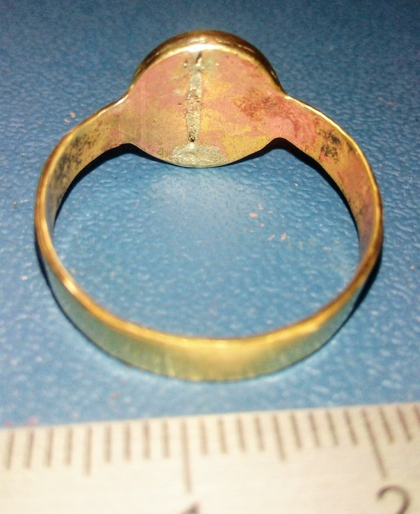 Реплика перстень Киевская Русь, фото №7