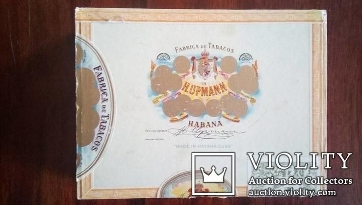 Сигары известного бренда H. Upmann в деревянной коробке 25 шт., запечатаны.
