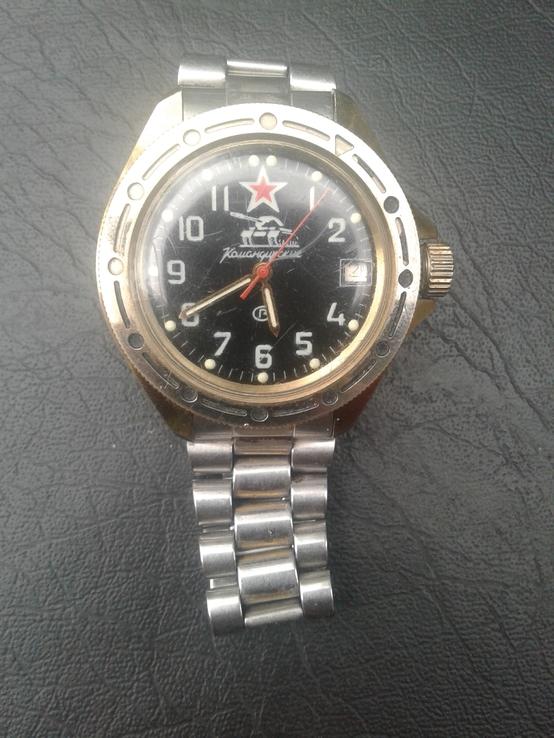 Часы командирские с танком
